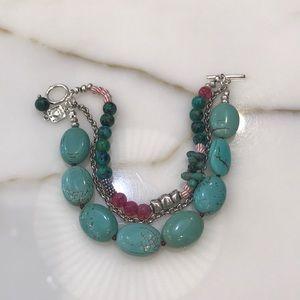 Jewelry - Turquoise & Sterling Bracelet—Sundance Artist!!